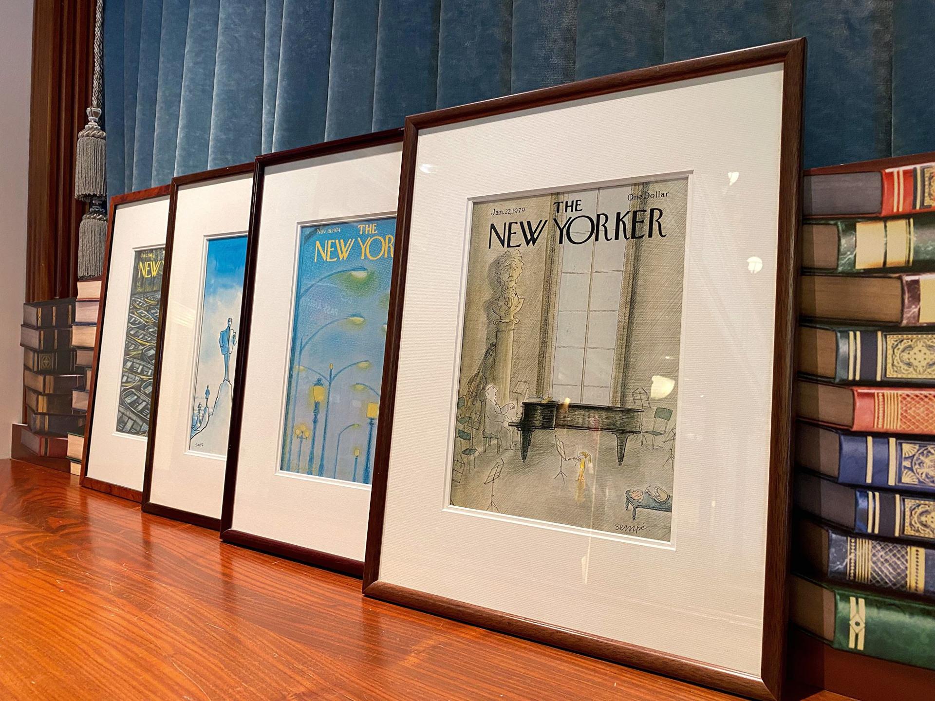 vente exclusive de tableaux présents dans le Disney's Hotel New York de 1992 à 2019